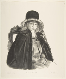 George Bellows, Jean in a Black Hat