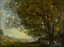 Painting of Under the Bough by Henry Ward Ranger