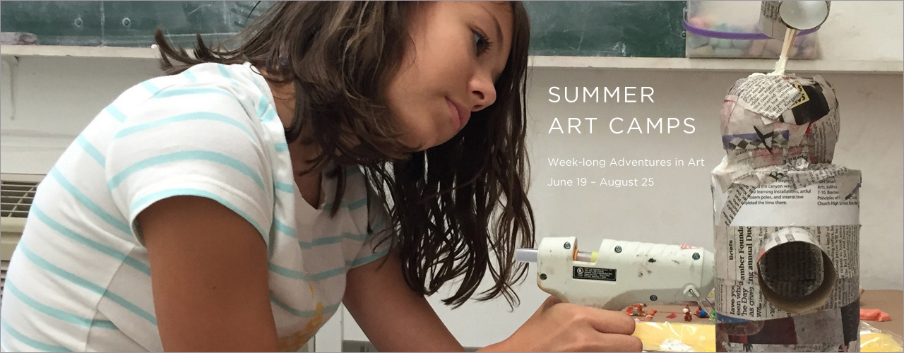 Summer Art Camps 2017 Hero